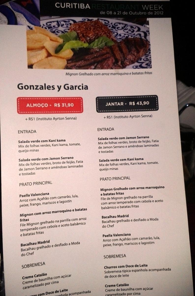 Restaurante Week Gonzales Y Garcia Tapas Y Quesos