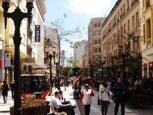 A Rua das Flores, curitiba, Jaime Lerner