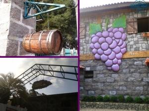 caminho do vinho, colônia mergulhão, turismo rural, casarão, café colonial, bolo de vinho,
