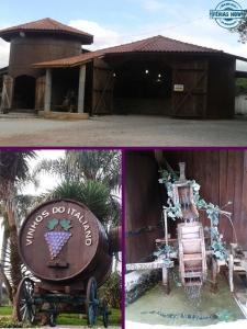 caminho do vinho, colônia mergulhão, turismo rural, casarão, café colonial, bolo de vinho, salames,