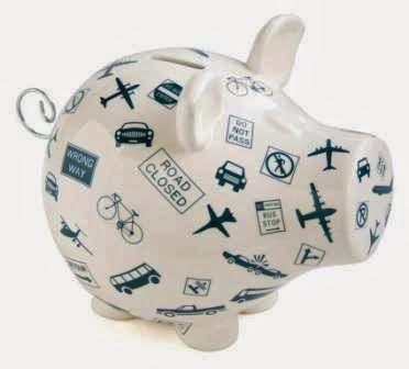 economizar para viajar, poupar para viajar