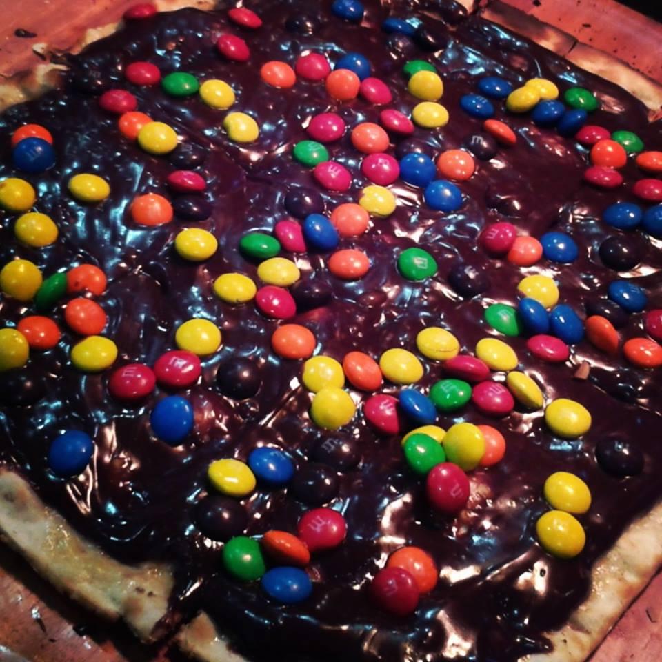 pizza nutella geppeto